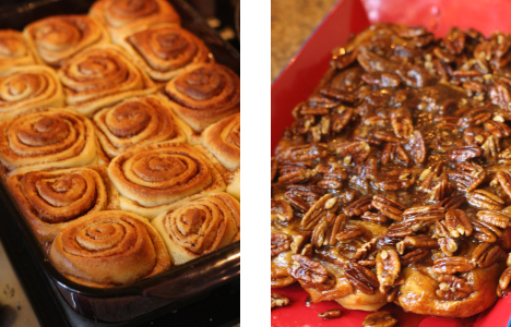 Caramel Pecan Rolls | Inviting Joy